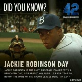 Do you have the guts not to fight back? Do you have the guts to retaliate Jesus' way? …(The Bible's Impact on Acts of Mercy [Apr 16]) – Did you have a Happy Jackie Robinson day on the 15th?