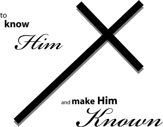It's more than just knowing God it is also about making Him known. (The Bible's Impact on Acts of Mercy [Apr6])