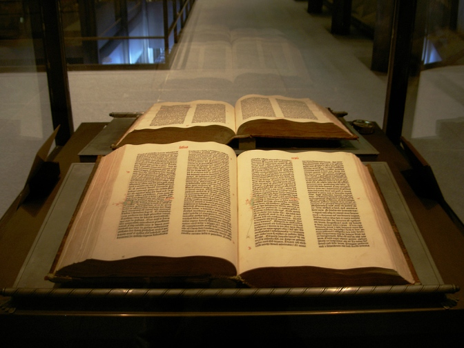 Johannes Gutenberg prints the first Bible…(The Bible's Impact on Trade and Taxes [June 1])