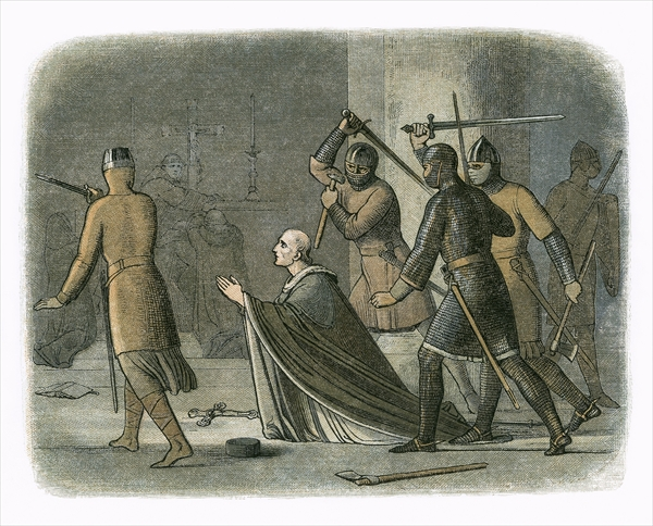 THE MURDER OF Thomas à Becket…(The Bible's Impact on Trade and Taxes [June 12])