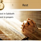 THE SABBATH…(The Bible's Impact on Trade and Taxes [June 26])