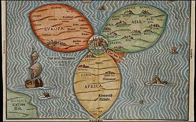 MEDIEVAL MAPS OF THE WORLD… (The Bible's Impact on Scientific Discovery [July18])