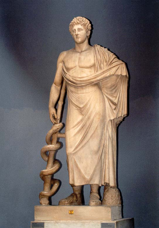 July 7 - Greek god of medicine Asclepius