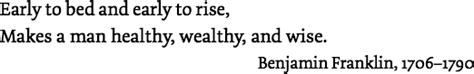 BENJAMIN FRANKLIN, POOR RICHARD'S ALMANAC…(The Bible's Impact on Literature [August13])
