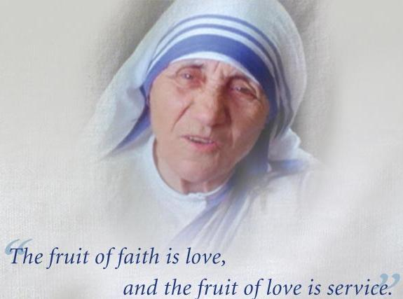 MOTHER TERESA OF CALCUTTA … THE BIBLE'S IMPACT ON ACTS OF CHARITY) [DEC24]
