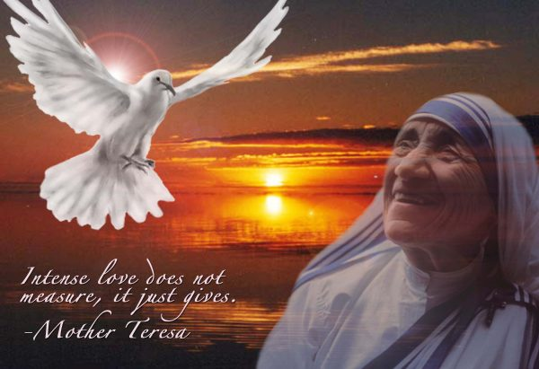 MOTHER TERESA ON LOVE … (THE BIBLE'S IMPACT ON ACTS OF CHARITY) [DEC 12]