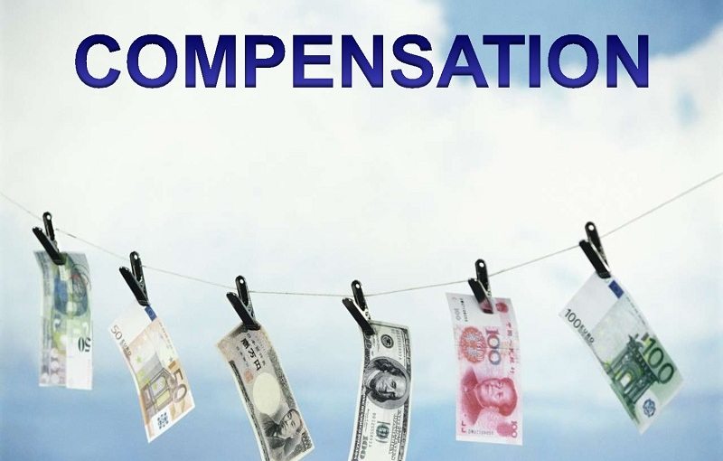 Does compensation get considered when speaking ofjustice?