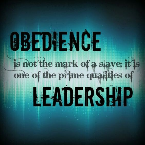 Partial obedience is still disobedience.