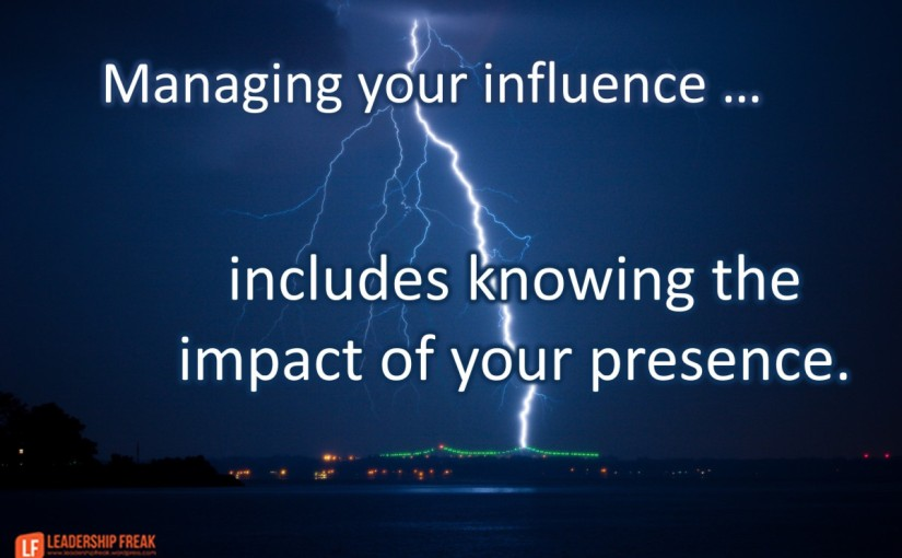 Do you realize the impact you are having onothers?