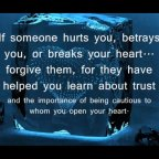 What do you do when you are betrayed?