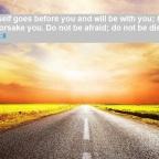 Don't lose hope! Don't be afraid! God will make a way!