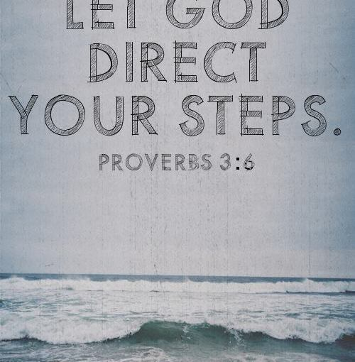 Will you allow God's good plan to direct you?