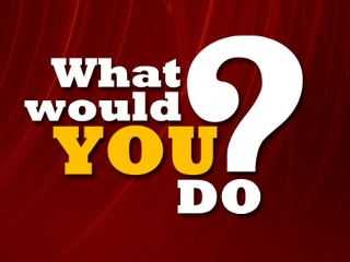 What would you do if you were asked to do something supperimportant?