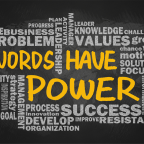 Words how power! How will you use the ones that you get to speak?