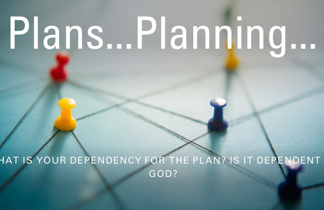 The Plan…