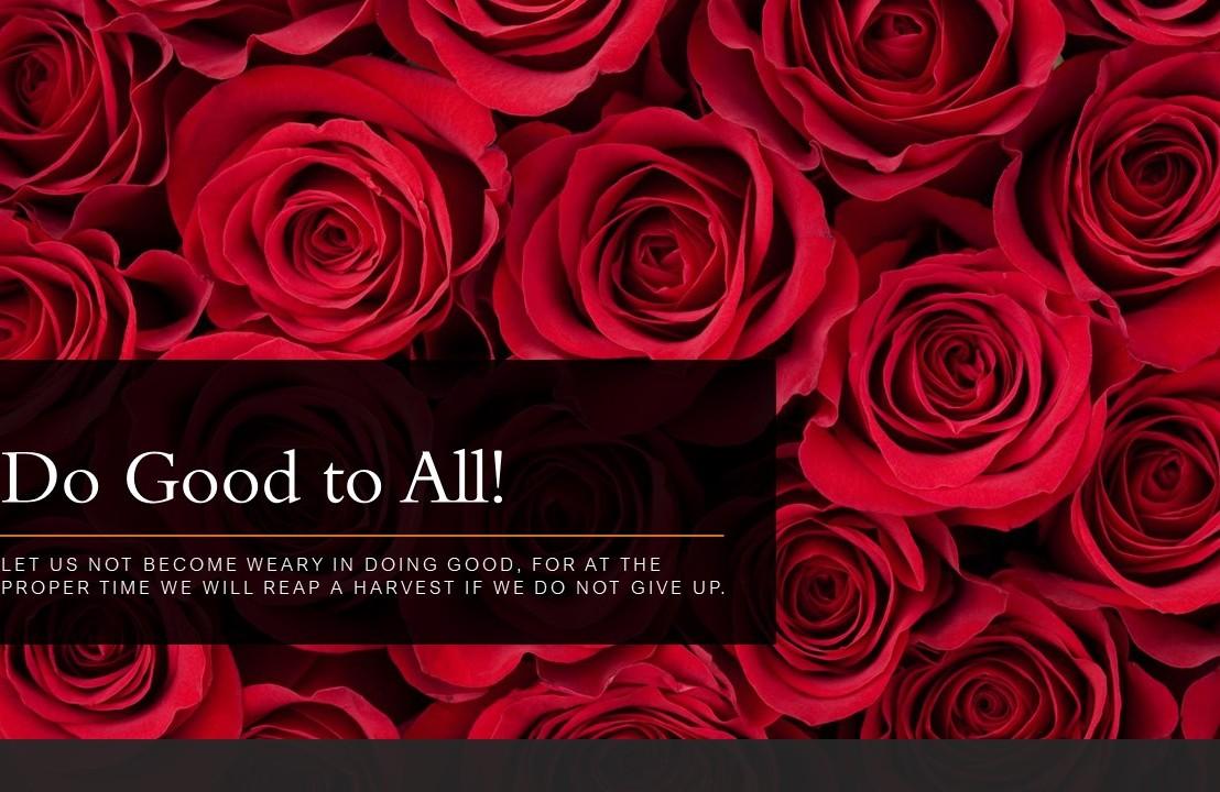 Do Good toAll!