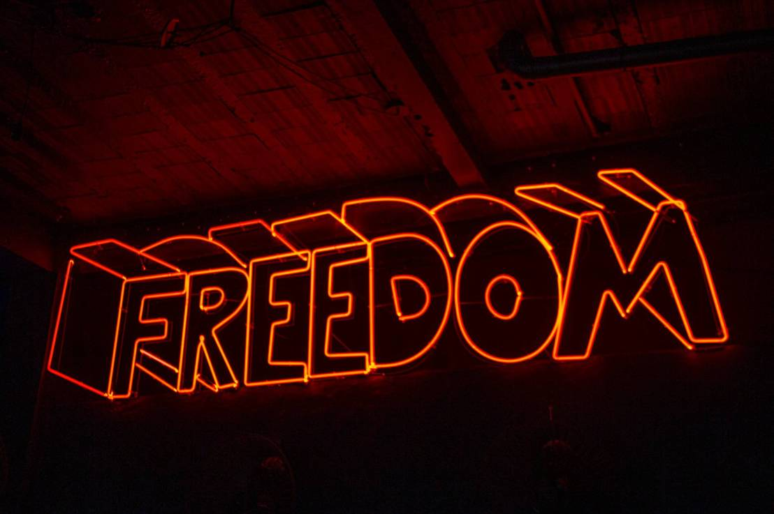 How will you use your freedom?